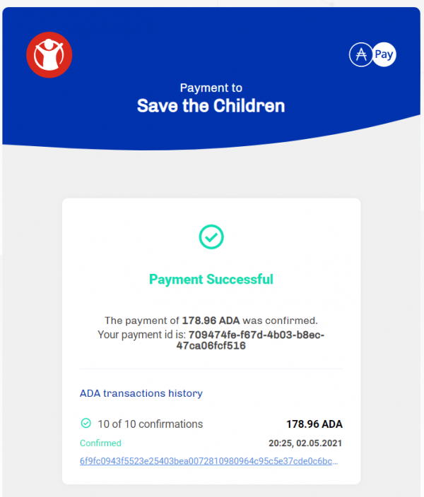 May 2021 - Save the Children