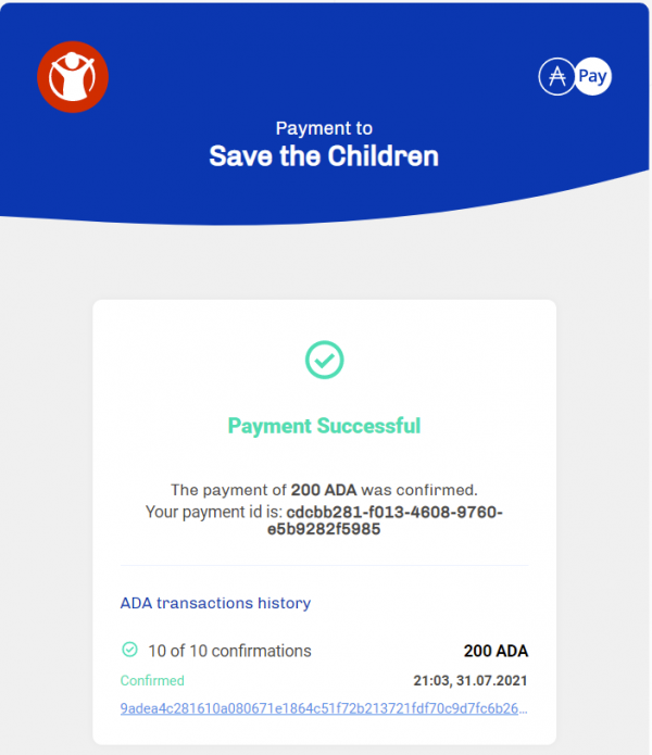 July 2021 - Save the Children