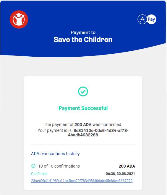 August 2021 - Save the Children